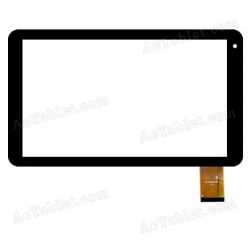 YLD-CGEA529-FPC-A Digitizer Glass Touch Screen Replacement for 10.1 Inch MID Tablet PC