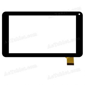 C.FPC.WT1015A0700V00 Digitizer Glass Touch Screen Replacement for 7 Inch MID Tablet PC