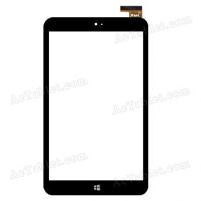 WJ777-FPC V3.0 Digitizer Glass Touch Screen Replacement for 8 Inch MID Tablet PC