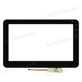 FPC-CTP-1010-043-1 Digitizer Glass Touch Screen Replacement for 10.1 Inch MID Tablet PC
