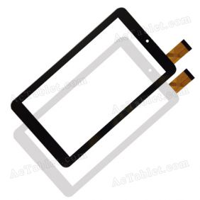 Digitizer Touch Screen Replacement for Trevi Kid Tab 7 C16 Quad Core Green 7 Inch Tablet PC