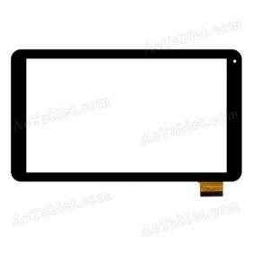 XC-PG1010-048-AO-FPC Digitizer Glass Touch Screen Replacement for 10.1 Inch MID Tablet PC