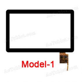 TOPSUN-1003A-A Digitizer Glass Touch Screen Replacement for 10.1 Inch MID Tablet PC