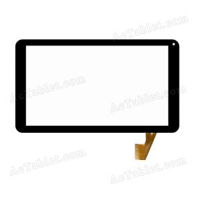 Replacement Touch Screen for Ampe 1009 A83T Octa Core 10.1 Inch Tablet PC