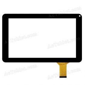 HOTATOUCH C141232J1-DRFPC370T-V1.0 Digitizer Glass Touch Screen Replacement for 9 Inch Tablet PC