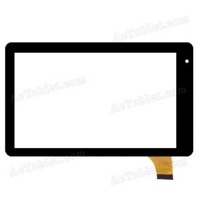 Digitizer Touch Screen Replacement for RCA RCT6773W22B Voyager II 7 Inch Tablet PC