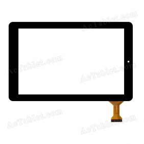 RJ899 VER.00 Digitizer Glass Touch Screen Replacement for 10.1 Inch MID Tablet PC