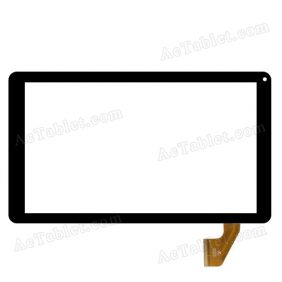 HK10DR2767 Digitizer Glass Touch Screen Replacement for 10.1 Inch MID Tablet PC