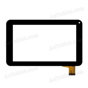 Digitizer Glass Touch Screen Replacement for PendoPad PNDPP42DC7BLK 7 Inch Tablet PC