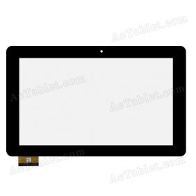 Replacement Touch Screen for eSTAR GRAND HD MID1158R Quad Core 10.1 Inch Tablet PC