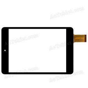 Digitizer Touch Screen Replacement for F&U ETB7858 Dual Core 7.85 Inch Tablet PC