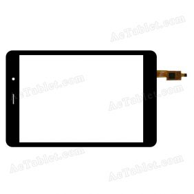 TRUST CT080SG318 3030-0800462 Digitizer Touch Screen Replacement for 7.9 Inch Tablet PC