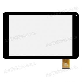 HK10DR2796 Digitizer Glass Touch Screen Replacement for 10.1 Inch MID Tablet PC