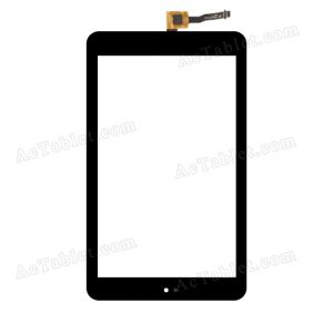JDC.T4520FPC-B Digitizer Glass Touch Screen Replacement for 7 Inch MID Tablet PC