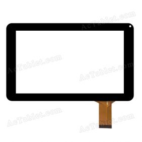 ZYD090-27 FPC V01 FLT Digitizer Glass Touch Screen Replacement for 9 Inch MID Tablet PC