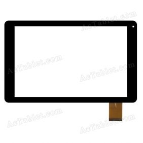 XN1629 Digitizer Glass Touch Screen Replacement for 10.1 Inch MID Tablet PC