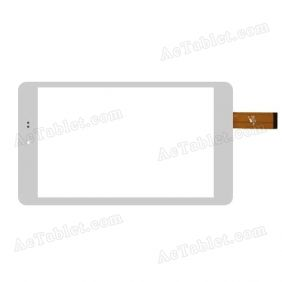PB80JG2296 Digitizer Glass Touch Screen Replacement for 8 Inch MID Tablet PC