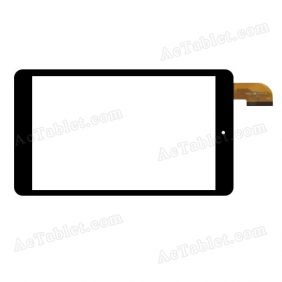 HXD-0819-V1.0 Digitizer Glass Touch Screen Replacement for 8 Inch MID Tablet PC