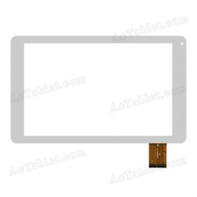 CN068FPC-V1 Digitizer Glass Touch Screen Replacement for 10.1 Inch MID Tablet PC