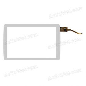 YTG-G80053-F1 V1.0 Digitizer Glass Touch Screen Replacement for 8 Inch MID Tablet PC