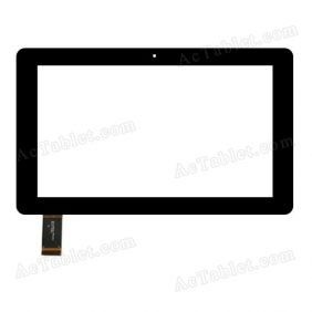 DH-1061A1-FPC206 Digitizer Glass Touch Screen Replacement for 10.1 Inch MID Tablet PC