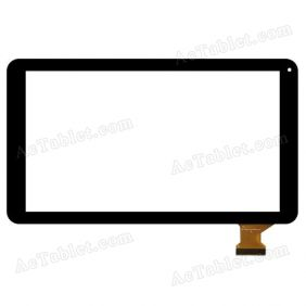 DH-1027A1-PG-FPC105-V3.0 Digitizer Glass Touch Screen Replacement for 10.1 Inch MID Tablet PC
