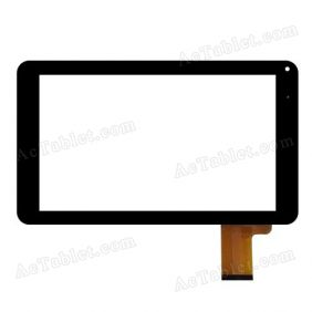 C137234A1 DRFPC222T-V3.0 Digitizer Glass Touch Screen Replacement for 10.1 Inch MID Tablet PC