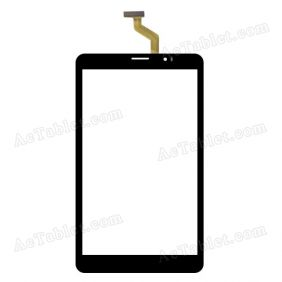 CN040C0800G12V0 Digitizer Glass Touch Screen Replacement for 8 Inch MID Tablet PC
