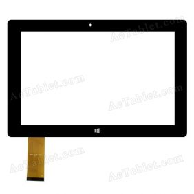 DXP2-0338-101A Digitizer Glass Touch Screen Replacement for 10.1 Inch MID Tablet PC
