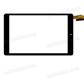 FPC-080004A Digitizer Glass Touch Screen Replacement for 8 Inch MID Tablet PC