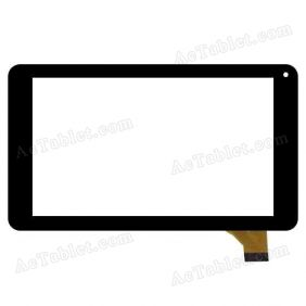 FHF70050 Digitizer Glass Touch Screen Replacement for 7 Inch MID Tablet PC