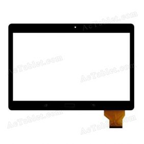 NJG101047AGGLB-V0 Digitizer Glass Touch Screen Replacement for 10.6 Inch MID Tablet PC