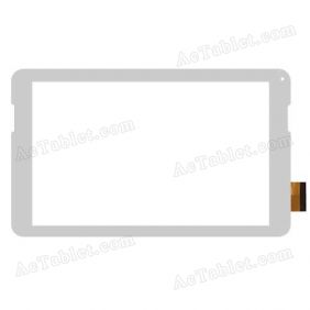 701-10197-02 Digitizer Glass Touch Screen Replacement for 10.1 Inch MID Tablet PC