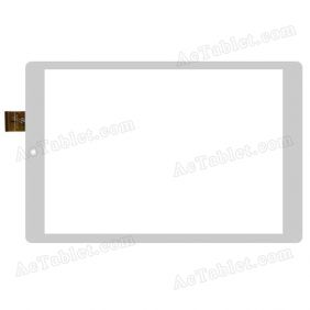 HK80DR2619-V03 Digitizer Glass Touch Screen Replacement for 8 Inch MID Tablet PC