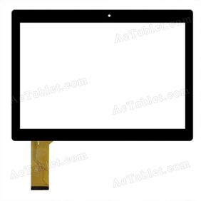 DH-1048A1-PG-FPC165-V3.0 Digitizer Glass Touch Screen Replacement for 10.1 Inch MID Tablet PC