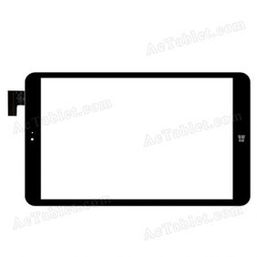 WANJ WJ857-FPC V1.0 Digitizer Glass Touch Screen Replacement for.8.9 Inch MID Tablet PC