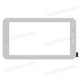 OLM-070B0176-PG Digitizer Glass Touch Screen Replacement for 7 Inch MID Tablet PC