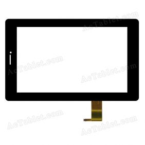 F-WGJ70374-V3 Digitizer Glass Touch Screen Replacement for 7 Inch MID Tablet PC