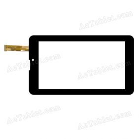 WJ890-FPC-V2.0 Digitizer Glass Touch Screen Replacement for 7 Inch MID Tablet PC