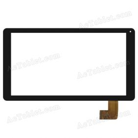 ZYD101-22 V01 Digitizer Glass Touch Screen Replacement for 10.1 Inch MID Tablet PC