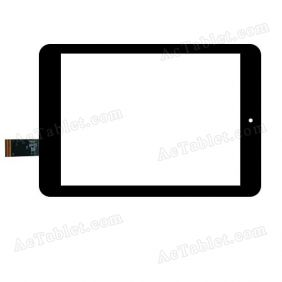C199136A1-FPC868DR-02 Digitizer Glass Touch Screen Replacement for 8 Inch MID Tablet PC