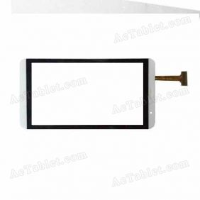 HSCTP-447-7-B FPC Digitizer Glass Touch Screen Replacement for Android Phone