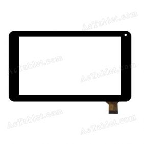 WJ756-FPC Digitizer Glass Touch Screen Replacement for 7 Inch MID Tablet PC