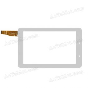 WJ932-FPC V1.0 Digitizer Glass Touch Screen Replacement for 7 Inch MID Tablet PC