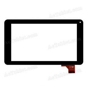 QCY FPC-07045V08 Digitizer Glass Touch Screen Replacement for 7 Inch MID Tablet PC
