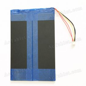 Universal 8000mAh Battery Replacement for 9.7/10.1 Inch Android Tablet PC 3.7V DC 5V