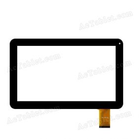 FHF100-023 Digitizer Glass Touch Screen Replacement for 10.1 Inch MID Tablet PC