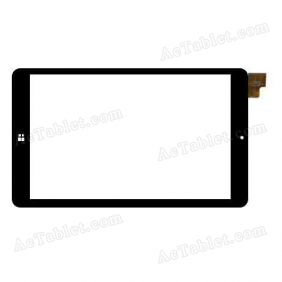 MGLCTP-80822A Digitizer Glass Touch Screen Replacement for 8 Inch MID Tablet PC