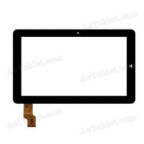 FPC-FC106S015-01 Digitizer Glass Touch Screen Replacement for 10.6 Inch MID Tablet PC