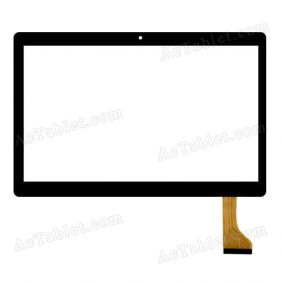 MK096-419 Digitizer Glass Touch Screen Replacement for 10.1 Inch MID Tablet PC